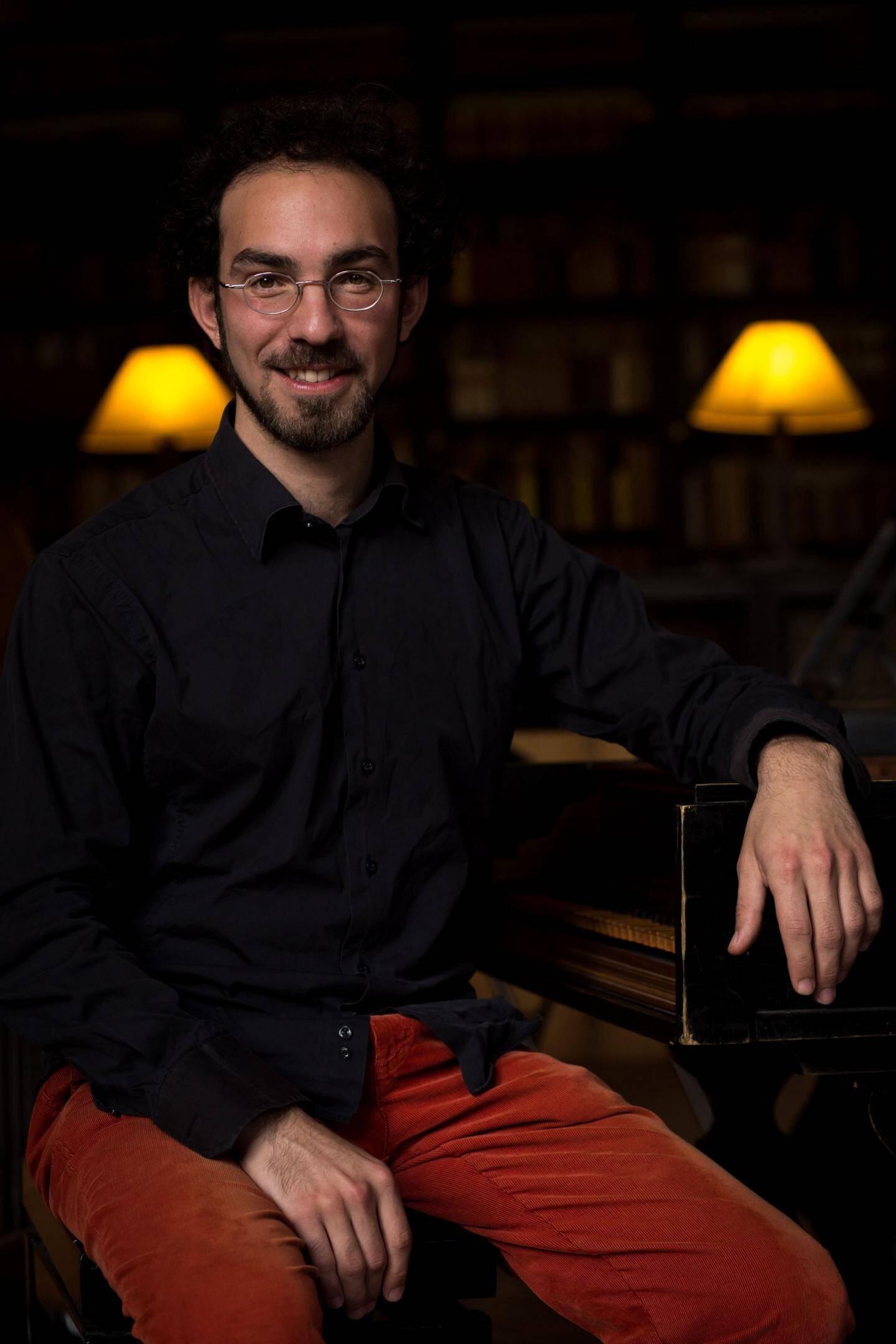 Arnaud de Pasquale sera à l'orgue Grinda dimanche.