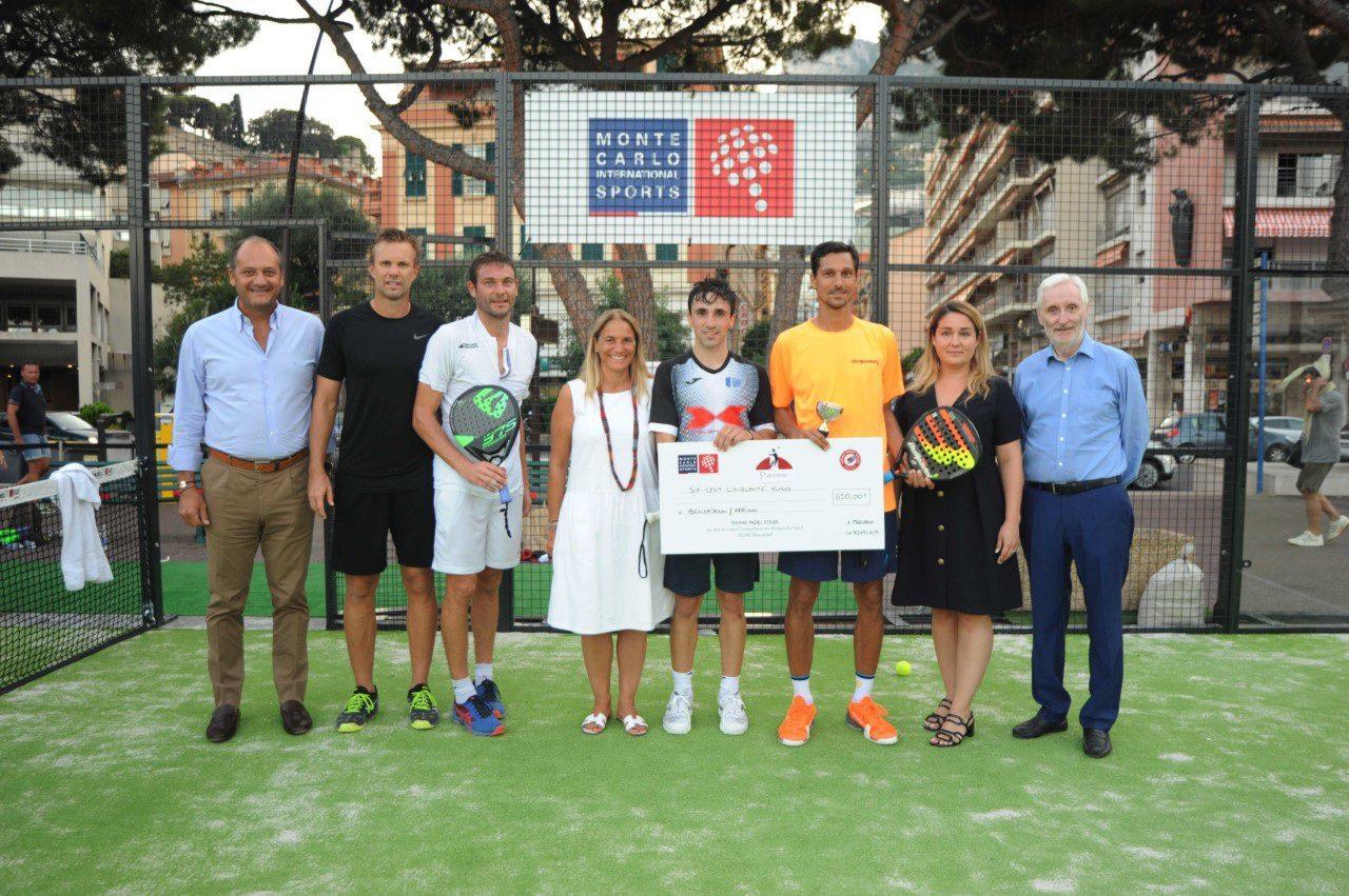 En finale masculine, le duo Denis Perino et Laurent Bensadoun ont remporté le titre de vainqueur.