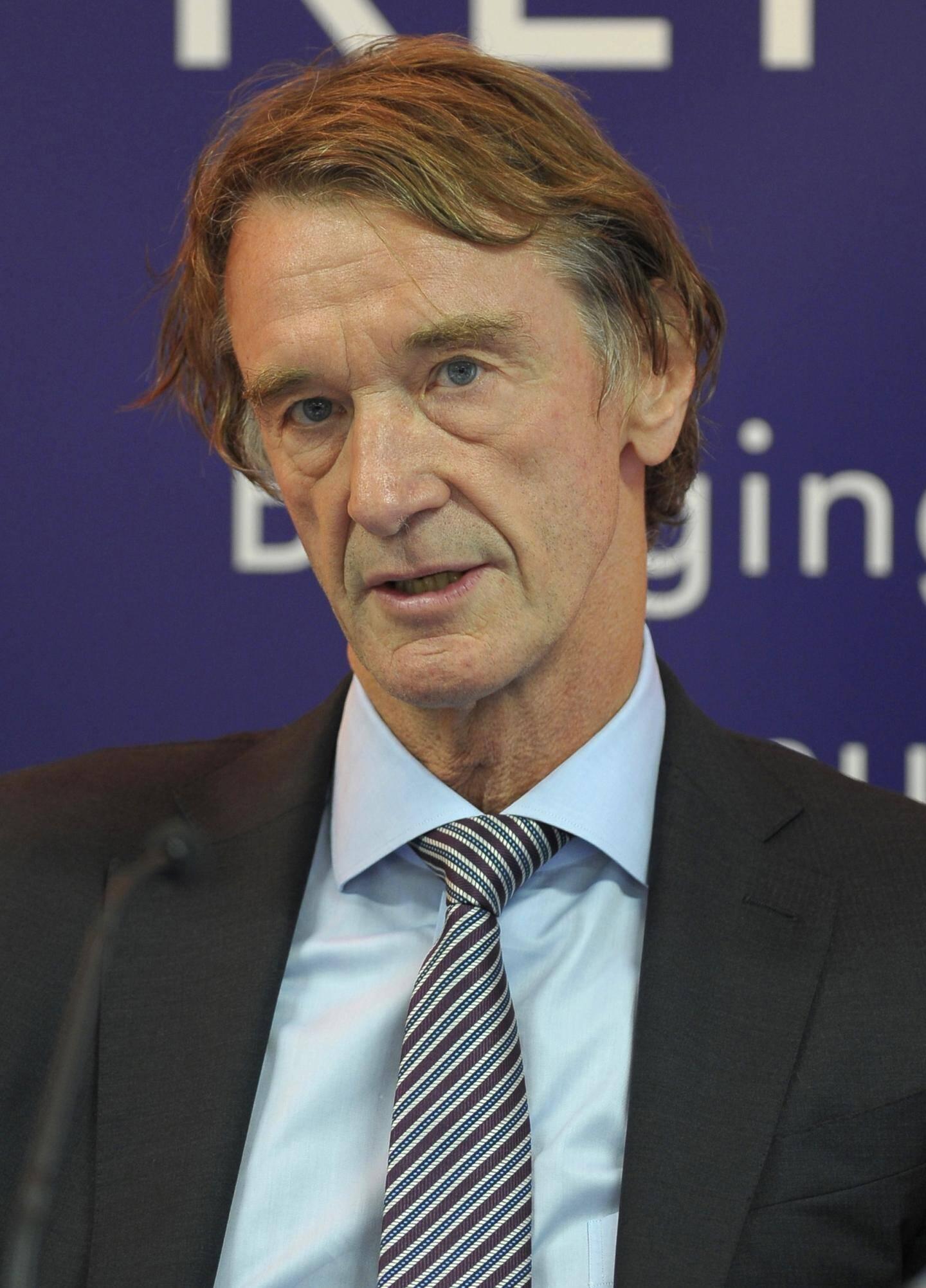 Le milliardaire britannique Jim Ratcliffe est désormais le propriétaire de l'OGC Nice.