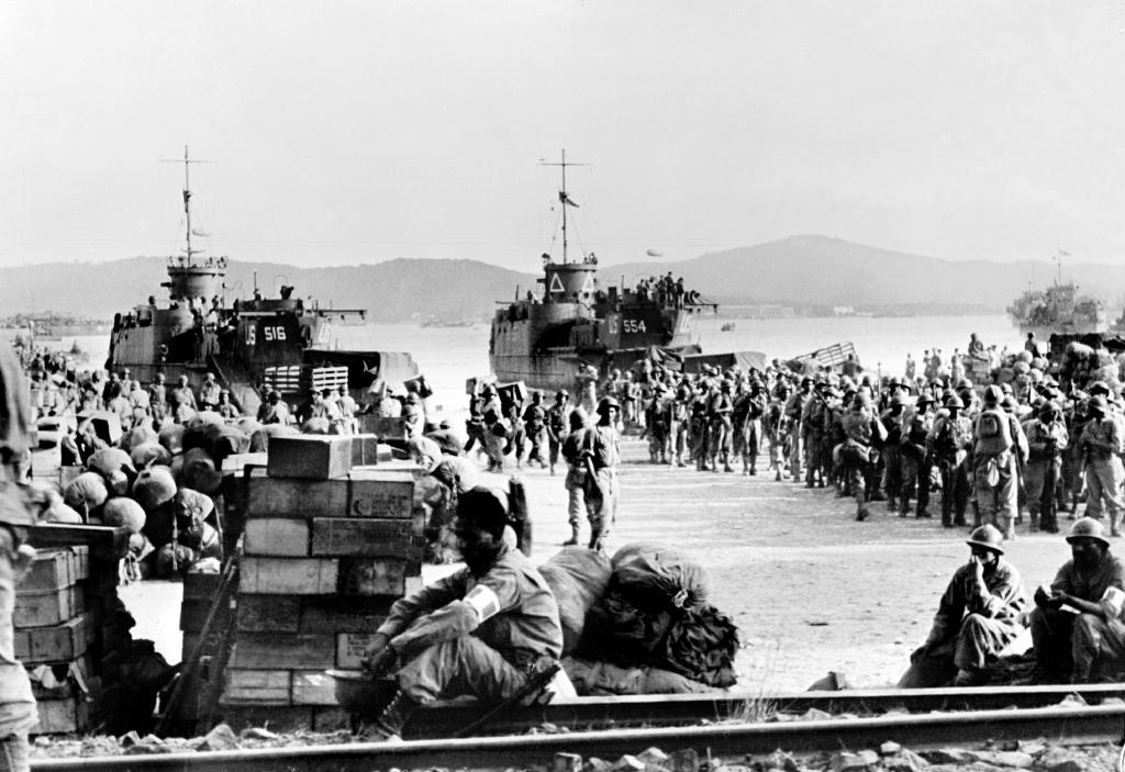 """En août 1944, les troupes alliées prennent pied sur les côtes de Provence avec l'opération """"Dragoon"""""""