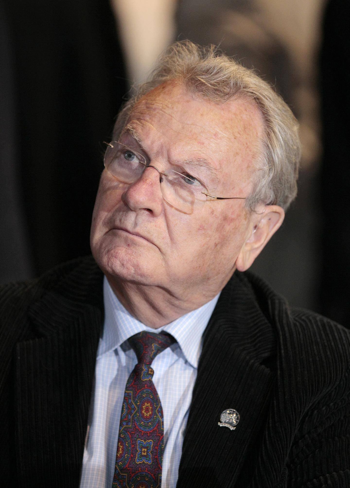 Yves Bonnet, l'ancien partron de la DST, le contre-espionnage français.