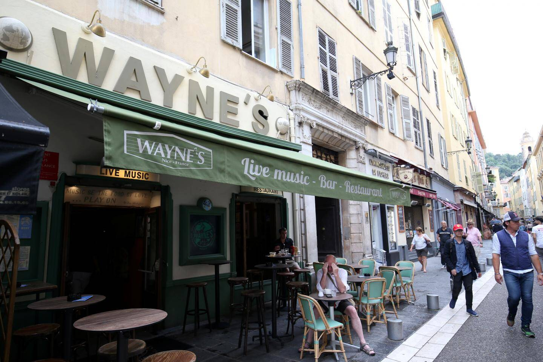 Pub Le Wayne's dans le vieux Nice