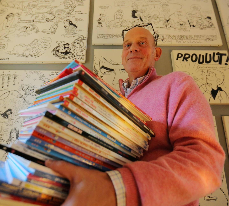 Parmi les nouveautés dévoilées par Grégoire Hacot: une Master Class donnée par le nouveau dessinateur des Schtroumpfs, Miguel Diaz Vizoso.