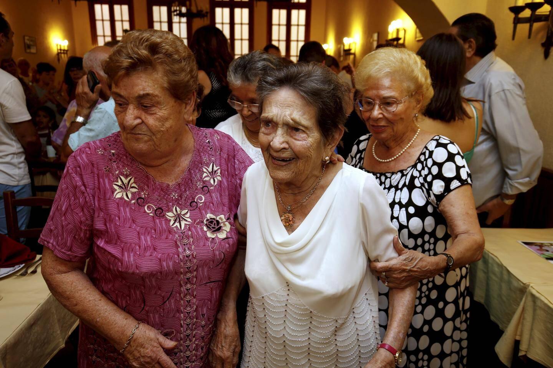 Dina fête ses 100 ans
