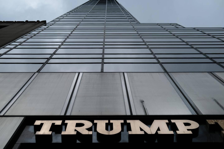 Le gratte-ciel Trump Tower dans le centre-ville de New York.