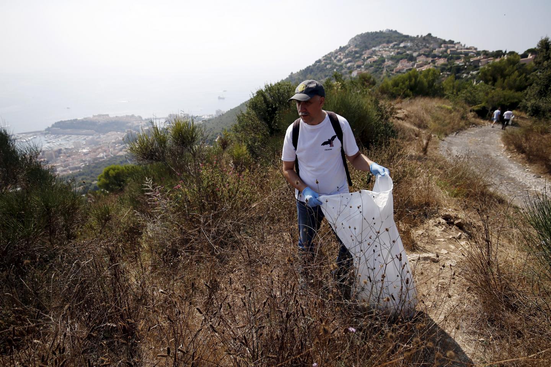 Des membres de l'association Irahta sont venus aider lors de la collecte.