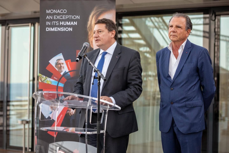 Guillaume Rose et Michel Dotta.