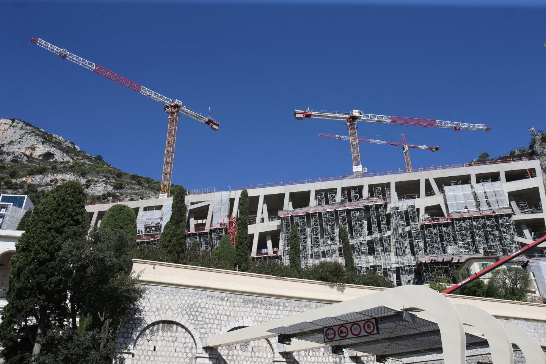 L'architecture du futur bâtiment hospitalier commence à se dessiner.