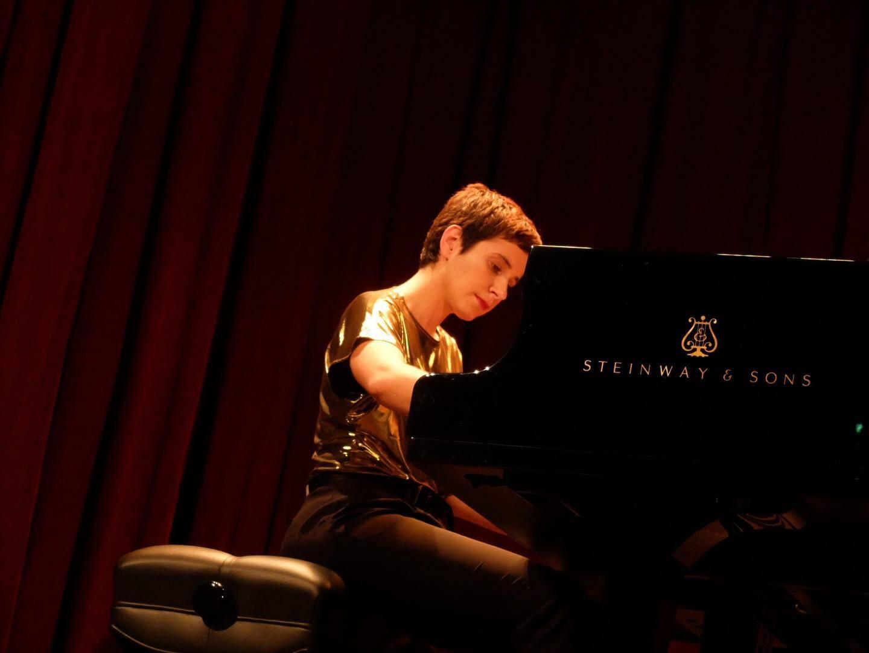 Fanny Azzuro a donné un récital plein d'émotions et de sensibilité.