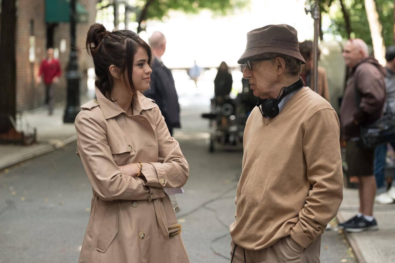 Woody Allen avec Selena Gomez