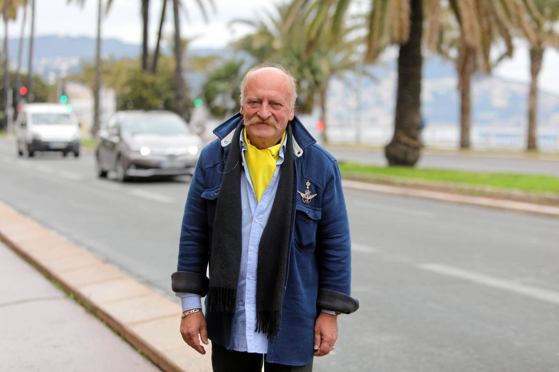 """Patrick Cribouw, candidat éphémère à l'élection européenne sous le label """"Union jaune""""."""
