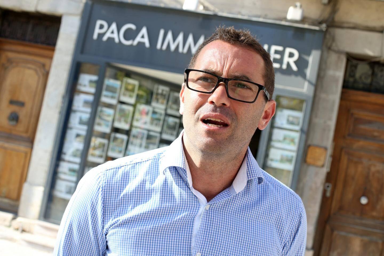 Laurent Moch, propriétaire de Paca Immobilier.