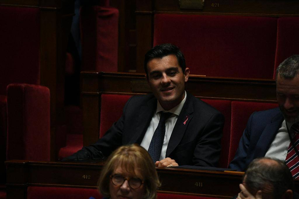 Le député LREM, Benoît Simian, ancien cadre des ressources humaines à la SNCF, à Paris, le 15 octobre 2019