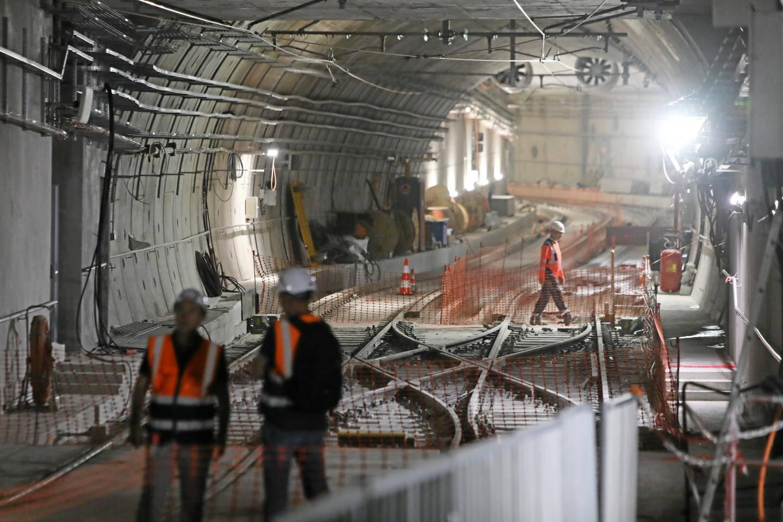 Le tunnel entre Garibaldi et le port, qui serpente sur 300 mètres.
