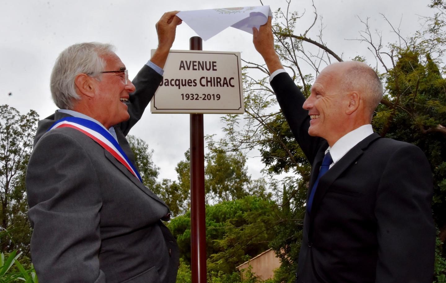 La nouvelle avenue officiellement inaugurée.