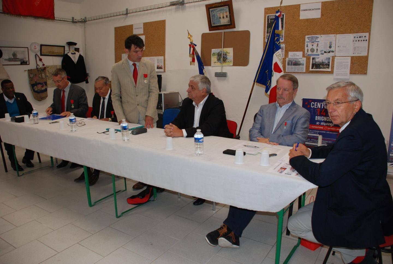 Le président Jean-Charles Doumenc a remercié le maire.