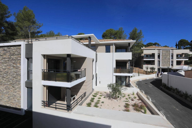 La villa Kanopé, chemin de Saint-Roch, est un des derniers programmes immobiliers livrés à Sanary. Elle compte 40 appartements, dont 17 sont des logements sociaux.