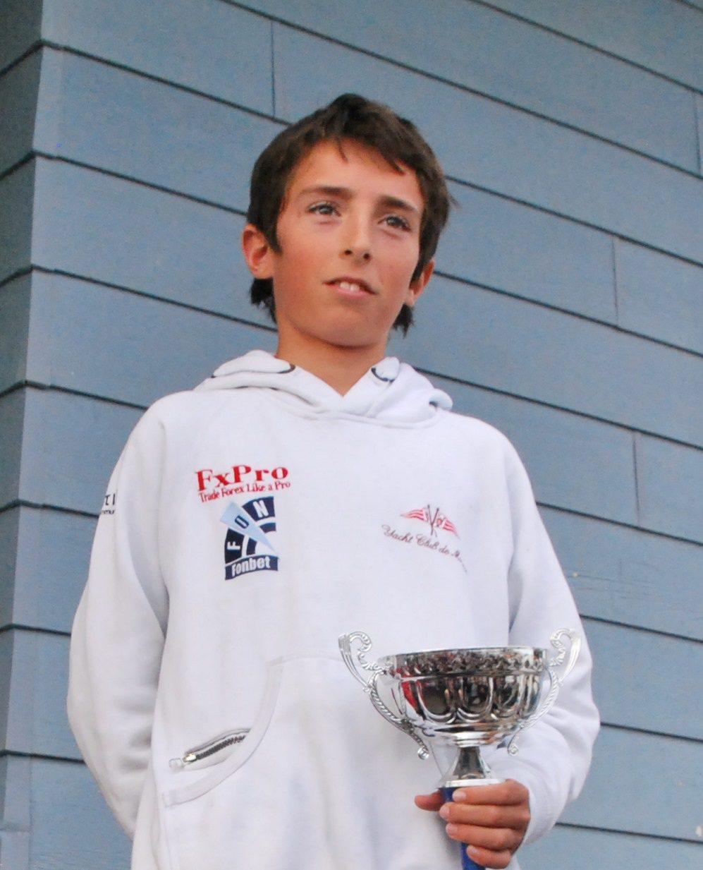 Simon Jeanselme vainqueur chez les minimes.