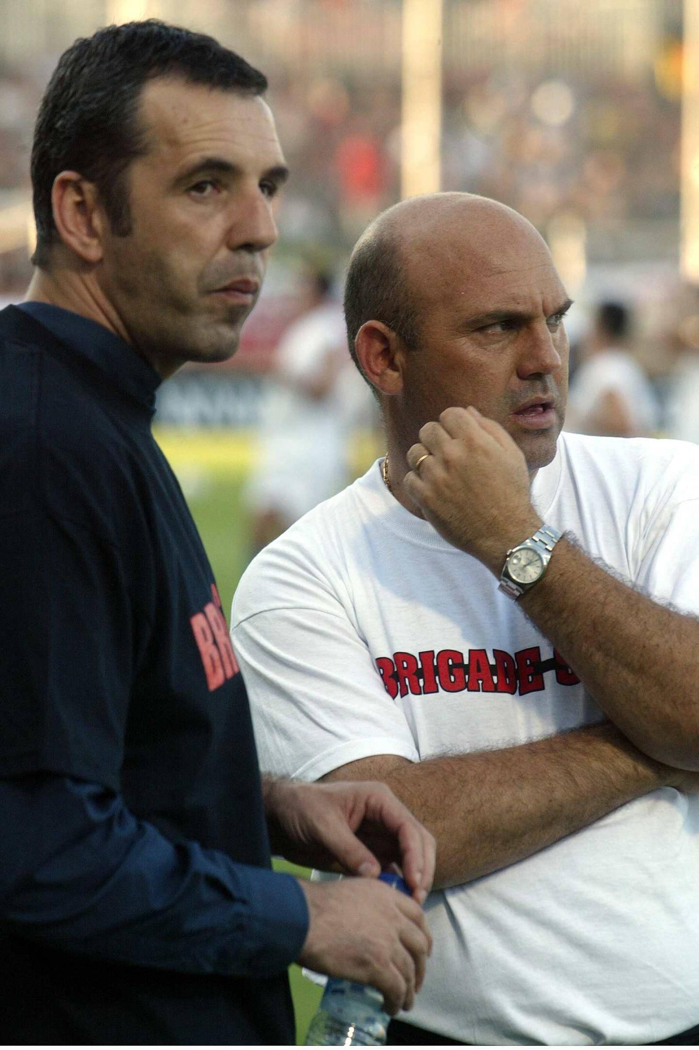 Un directeur sportif avec de la poigne.