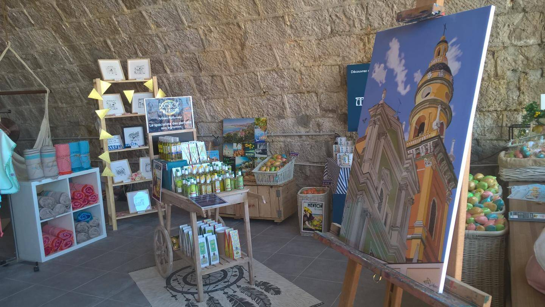 La boutique telle que les visiteurs l'ont découverte durant l'été.