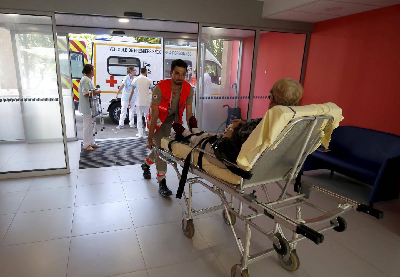 En juin 2018, les patients du CRCR de Gorbio étaient transférés au pôle SSR flambant neuf de l'hôpital de La Palmosa.(Photo archives J.-F.O.)