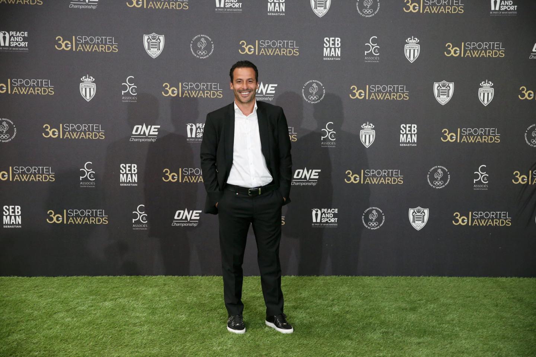 Ludovic Giuly, ancien footballeur de l'AS Monaco.