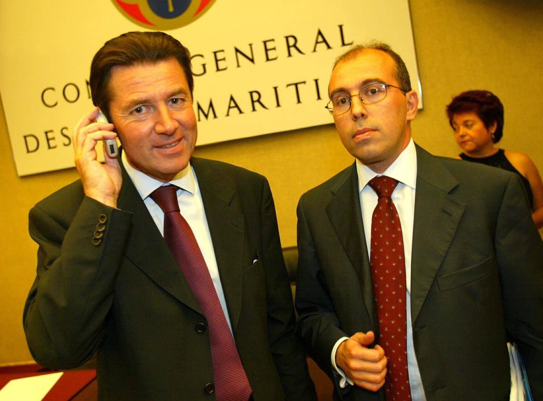 Eric Ciotti, directeur de cabinet de Christian Estrosi au conseil général.