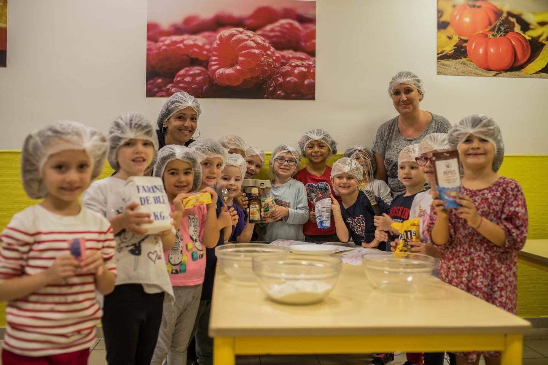 Atelier pâtisserie pour les gourmands.