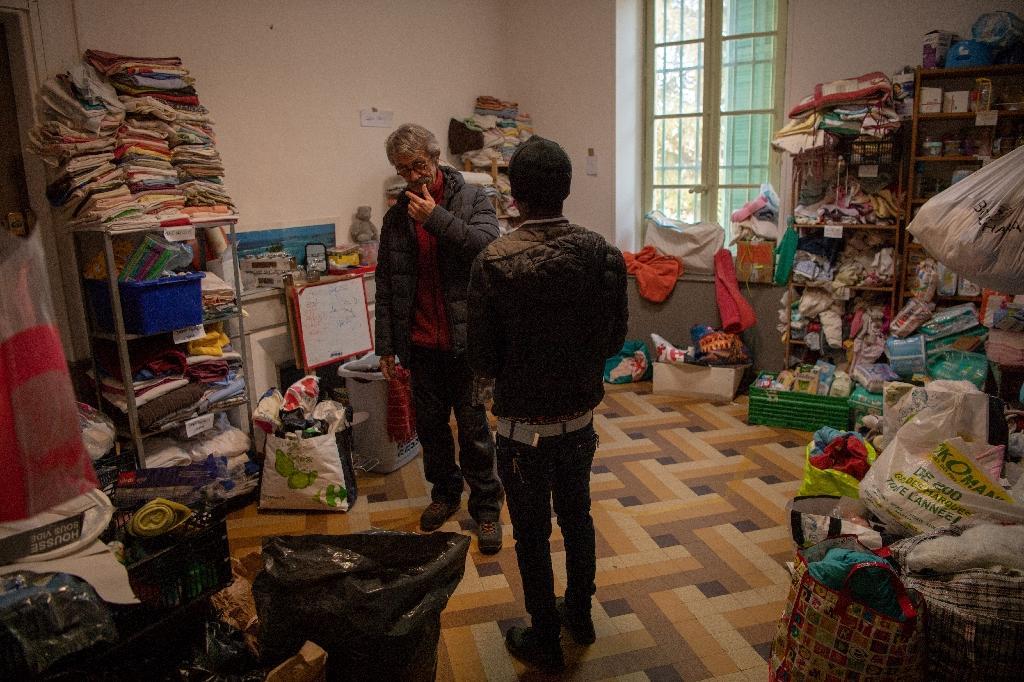 Une salle du foyer d'accueil aux migrants Saint-Just à Marseille, en janvier 2019