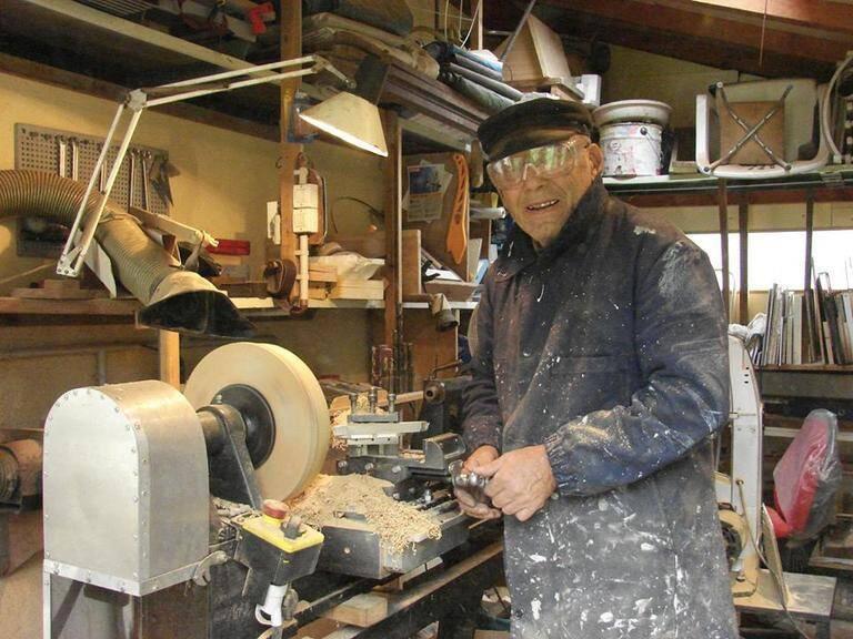 Depuis sa retraite, Claude Sinké était sculpteur sur bois