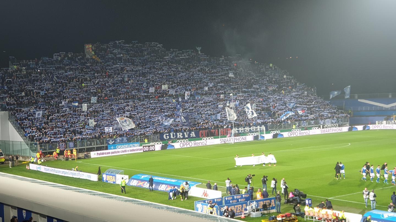 Le stade Mario Rigamontiavait des airs de Vélodrome.