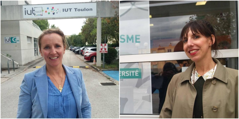 Motivées et passionnées, Daphné Moulin (à gauche) et Camille Leroy-Inaudi font partie de cette première cuvée 2019-2020.