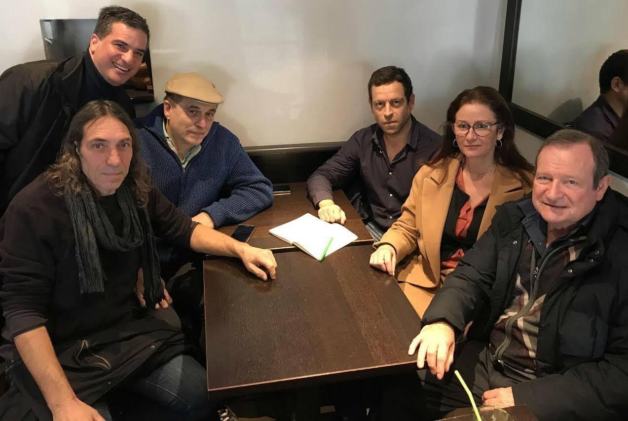 Jean-Pierre Spies, Stan Palomba, Jean-Louis Pastorino, Olivier Pasquetti, Sandra Scoffier et Robert Oberti.
