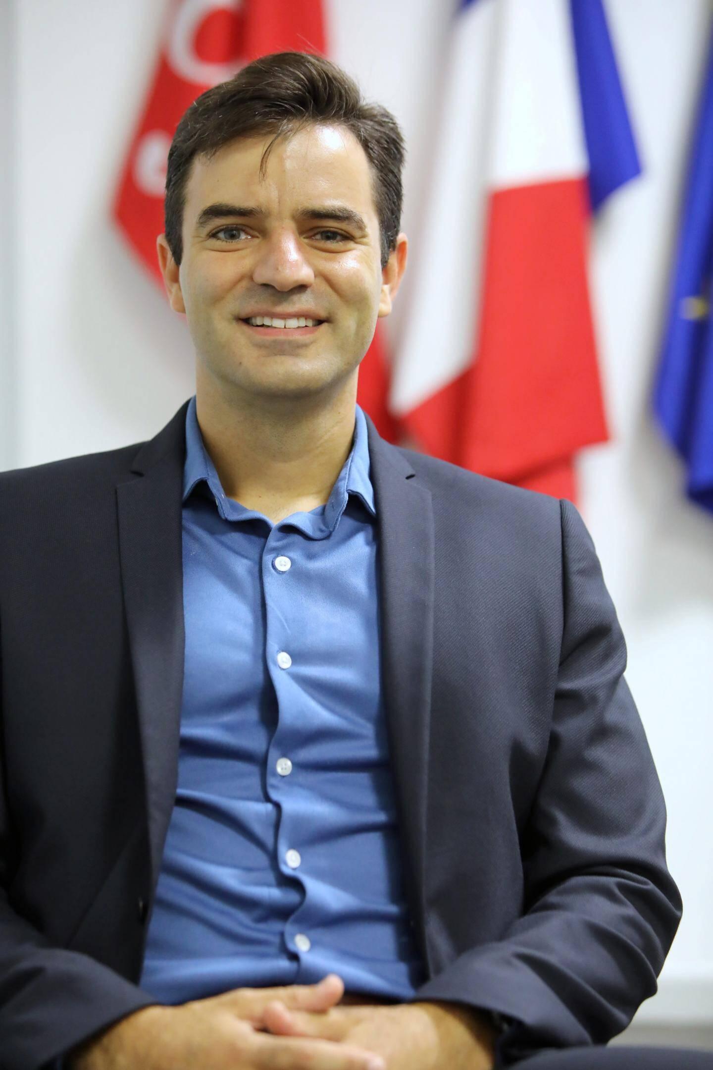 David Vandevelde, directeur de l'Alliance française à Nice.