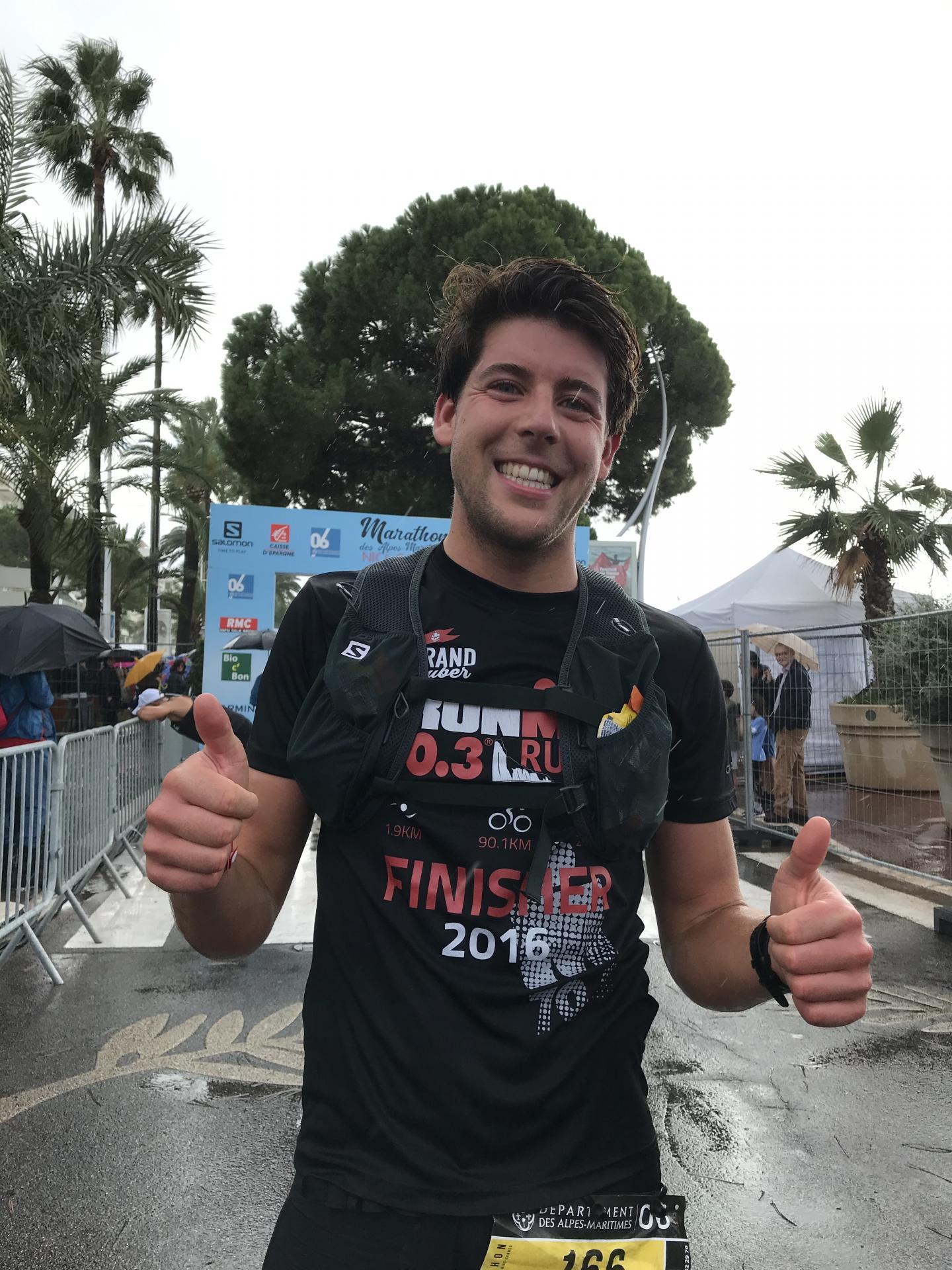 «C'était vraiment dur!» souffle Christian, Flamand de 26 ans, à l'arrivée après 2 h 57 d'efforts. C'était son premier marathon.