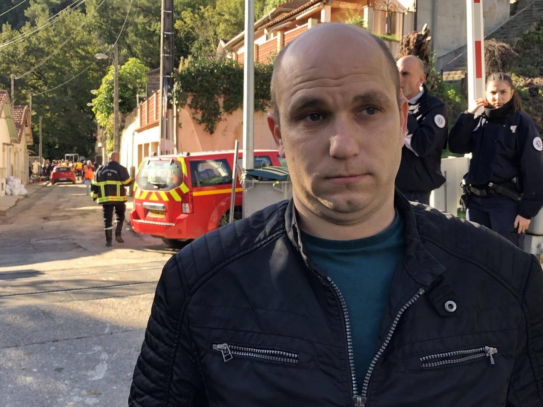 Frédéric Bandezian, enfant du quartier et secouriste, a prêté main-forte avec des bénévoles pour retrouver Jacqueline.