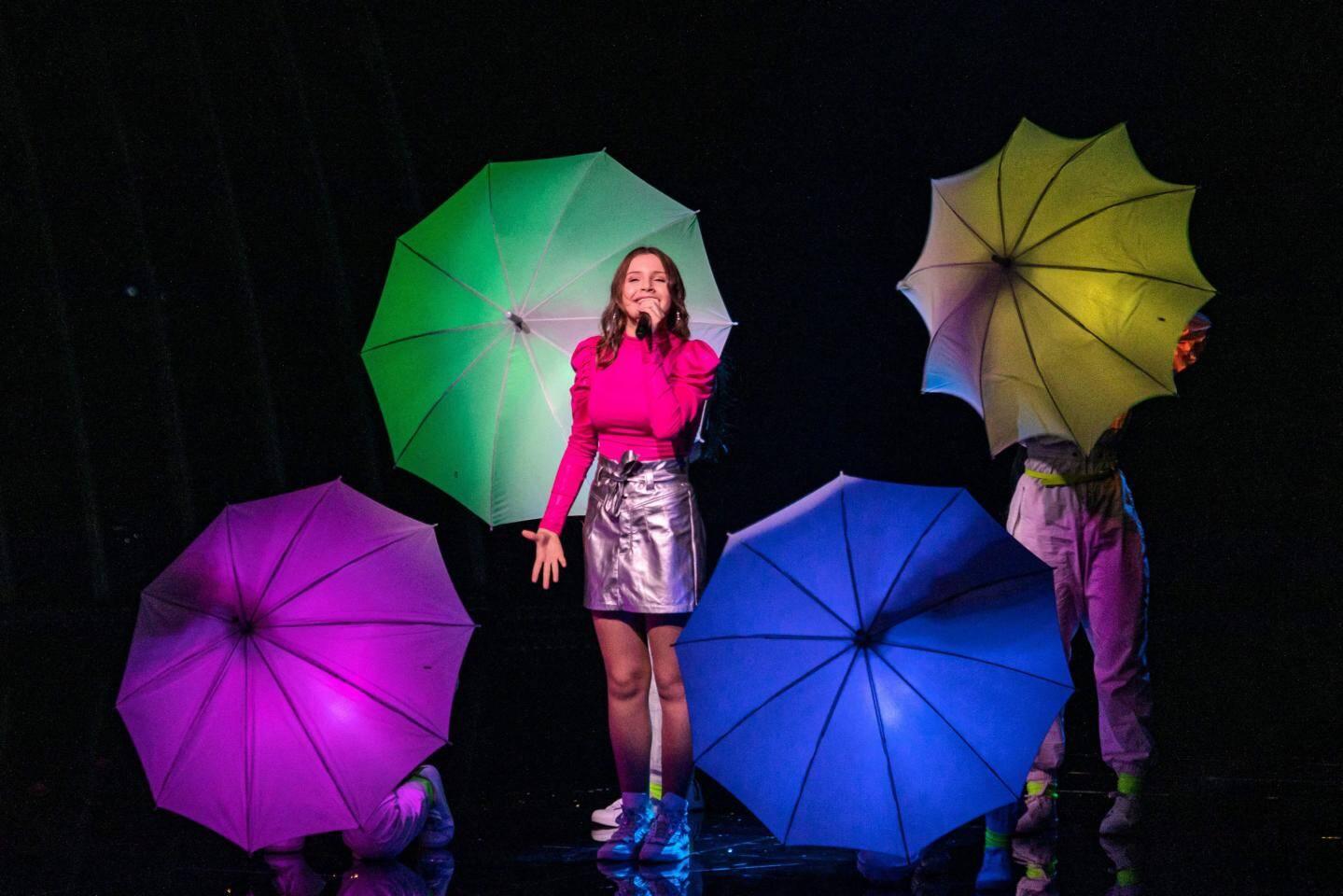 Carla, hier à Gliwice, en Pologne, lors d'une répétition.
