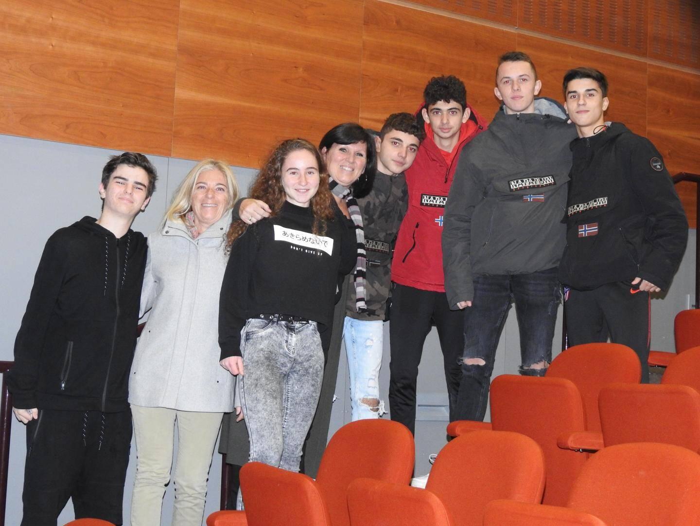 Valérie Roque et Sylvie Vincent ont retrouvé leurs anciens élèves.