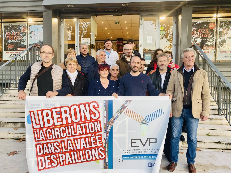L'association des Entreprises des vallées des Paillons s'est réunie, hier.(DR)