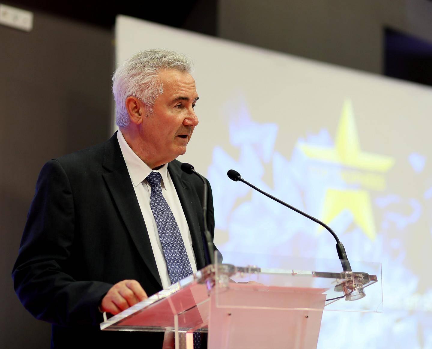 Jacques Bianchi, président de la CCI du Var, Hubert Falco, président de TPM et maire de Toulon, et Gérard Cerruti, président de l'UPV, ont assuré les entrepreneurs varois de leur soutien.