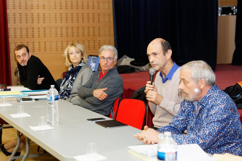 Lors d'une réunion publique, Jean-Paul Joseph et les artisans du projet ont dévoilé le nouveau centre des Lauriers Roses.