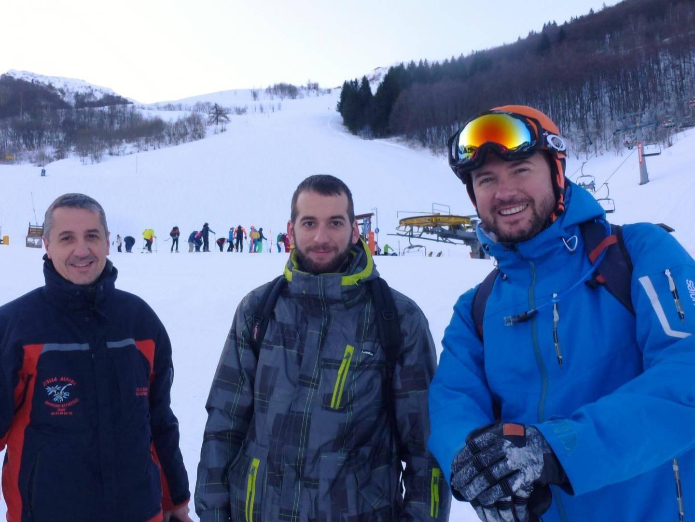 Maxime, Nicolas et Thibault enchantés de ce vendredi organisé au dernier moment.