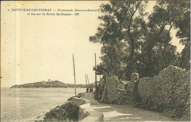 La promenade Maurice-Rouvier vers 1920.