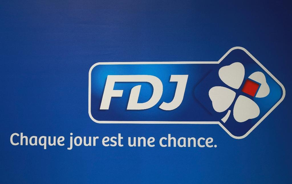 Le logo de la Française des Jeux (FDJ) photographié à Pantin, le 20 septembre 2016