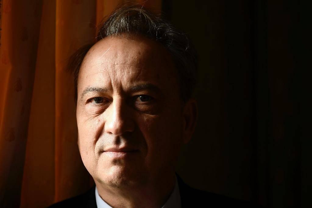 L'écrivain Jean-Luc Coatalem, le 8 novembre 2017 à Paris