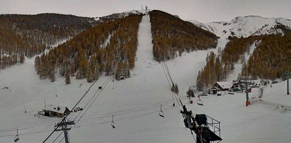 La neige est tombée abondamment sur Auron.