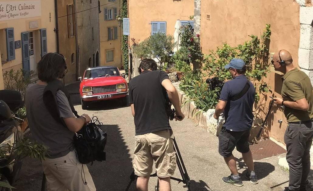 Le tournage a eu lieu dans le village provençal.