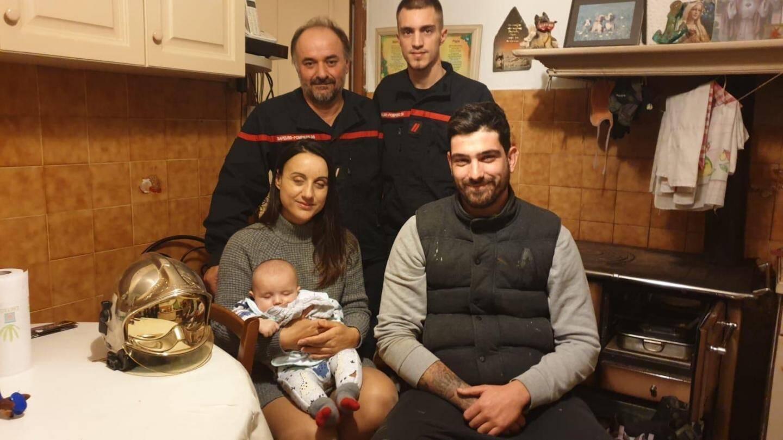 Gilbert Baldicchi a ensuite rendu visite à la famille.