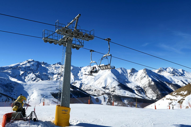 Station de ski Limone Piemonte Riserva Bianca.
