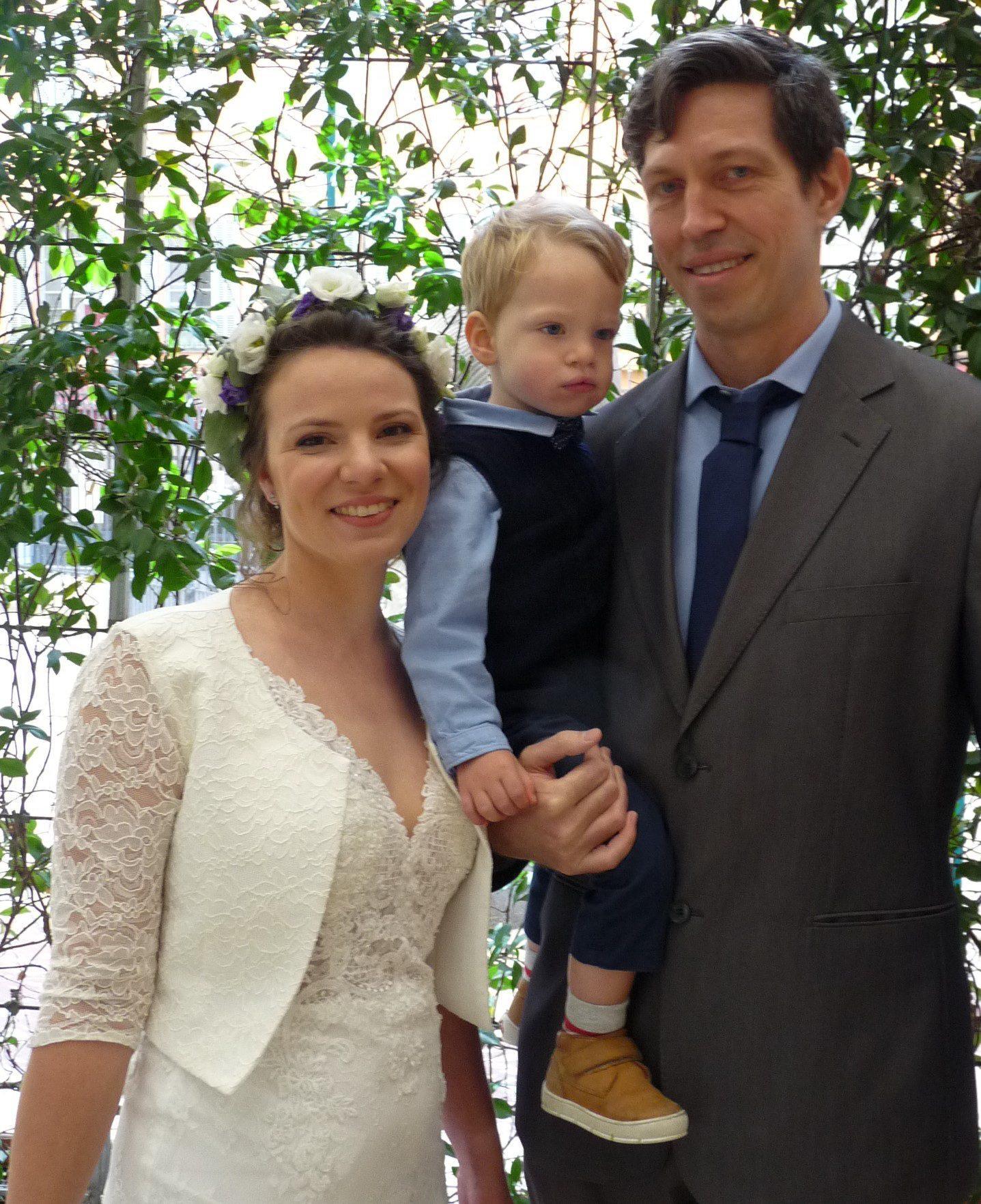 Pascal Garès Pozzo Di Borgo, comptable et Olesea Cutatcaia, mère au foyer.